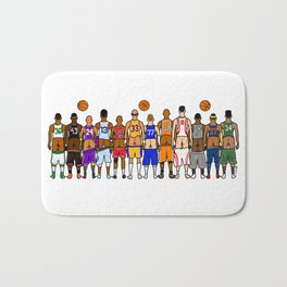 Basketball Butts Bath Mat