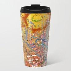 Summer Gold Metal Travel Mug
