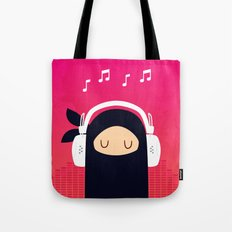 Music Ninja Tote Bag