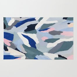 Ascent: abstract painting Rug