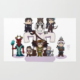 Little Vox Machina Rug