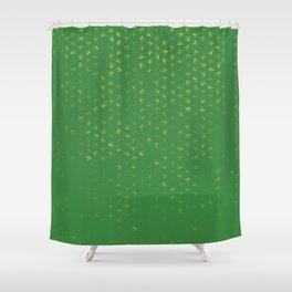 libra zodiac sign pattern gr Shower Curtain