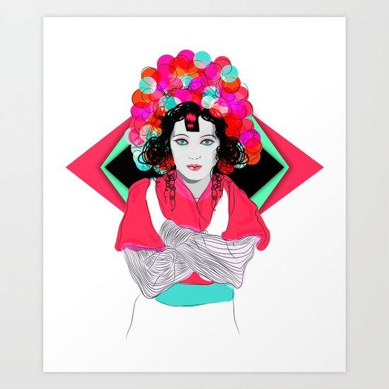Anna May Art Print