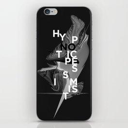 hypnotic pessimist iPhone Skin