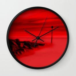 Scorching Seas Wall Clock