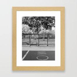 Singapore - Ang Mo Kio Framed Art Print