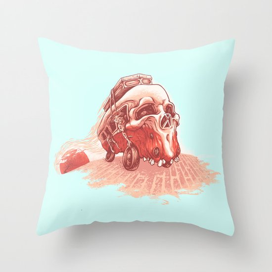walking to dead! Throw Pillow