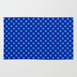 polka dot, variation, original pattern Rug
