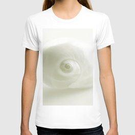 Beautiful White Shell #society #decor #buyart T-shirt