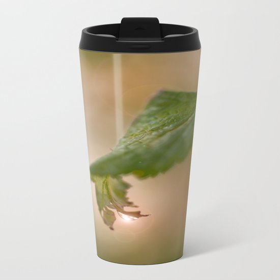 Shiny Drop n Forest Metal Travel Mug