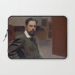 Joaquin Sorolla y Bastida - Autorretrato Joaquín Sorolla (1904) Laptop Sleeve