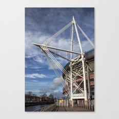 Millenium Stadium, Cardiff. Canvas Print