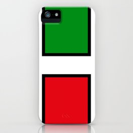 H stands for HELL - italian - Living Hell iPhone Case
