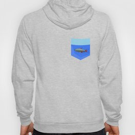 Neon Tetra Fish In Your Pocket Hoody