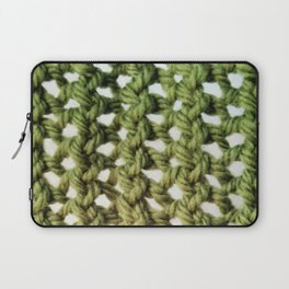 green twine Laptop Sleeve