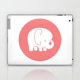 Mod Baby Elephant Coral Laptop & iPad Skin