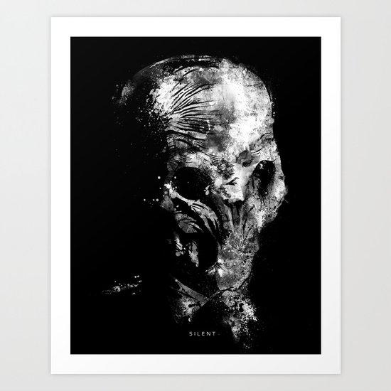 Silent Art Print