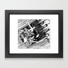 It's better than safe. It's death proof Framed Art Print