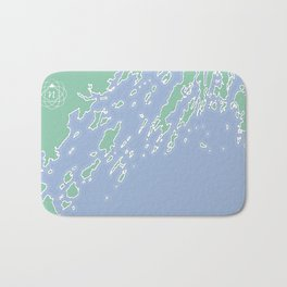 Casco Bay Maine USA Bath Mat