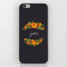 Yolo iPhone & iPod Skin