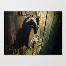 Lock-In Canvas Print
