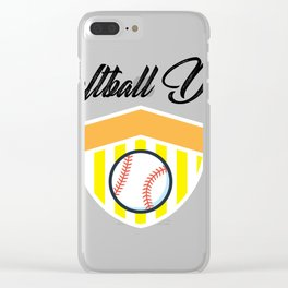 Softball And Dad For Men - Fathers Day Gifts Clear iPhone Case