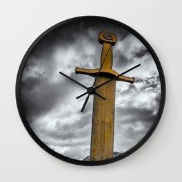 Llanberis Sword Snowdonia Wall Clock