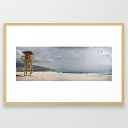 Los LAnces beach, Tarifa Framed Art Print