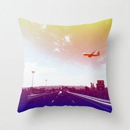 Sky Harbor II Throw Pillow