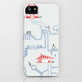 All Roads Lead to Your House iPhone Case