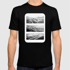 Southern Lands MEDIUM Black Mens Fitted Tee