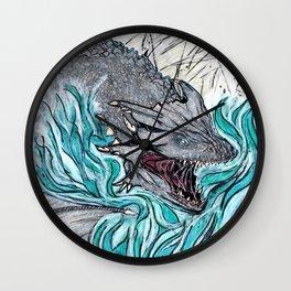 Furious Dragon Wall Clock