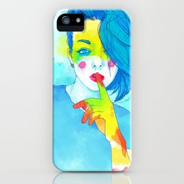 Colorful Kaya iPhone Case