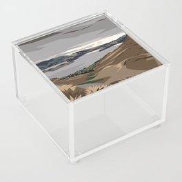 Cass Bay, New Zealand Acrylic Box