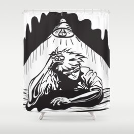 Just One of Those Days Shower Curtain
