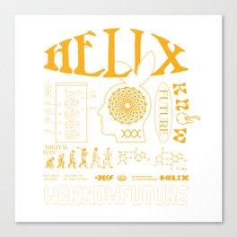WKF X HELIX Canvas Print
