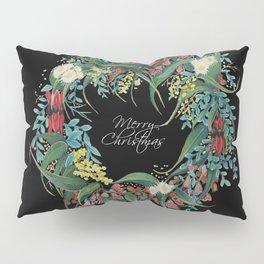 An Aussie Christmas BLACK Pillow Sham