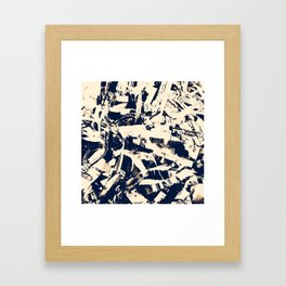 Scraps Framed Art Print