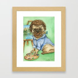 Pug Ross Framed Art Print