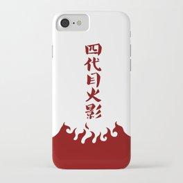 Naruto 4th Hokage iPhone Case