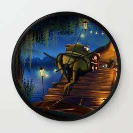 A Cup of Tea Fixes Everything Wall Clock