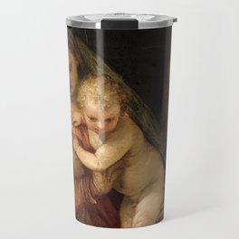 "Veronese (Paolo Caliari) ""The Holy Family with the Infant St. John the Baptist"" Travel Mug"