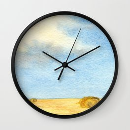 Prairie Sky Wall Clock