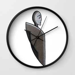 Floating Figure Wall Clock