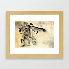 Ink Knight Framed Art Print