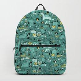Communication Dinosaurs Backpack