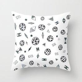Sketch pattern Throw Pillow