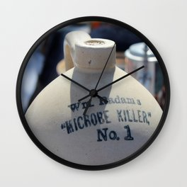 Microbe Killer Wall Clock