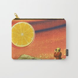 Orange planet Carry-All Pouch