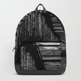 Graffiti City (Black and White) Backpack